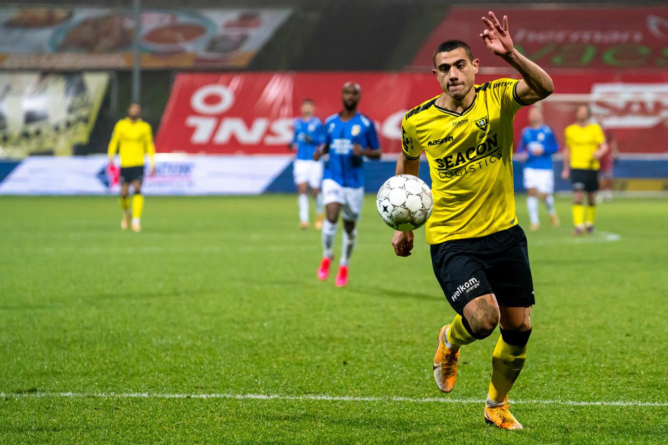 Georgios Giakoumakis maakte al 5 doelpunten tegen Vitesse dit seizoen.