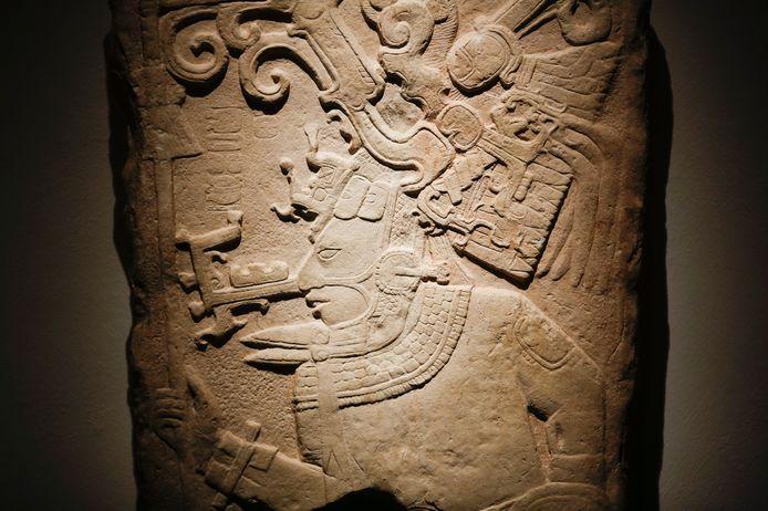 Enkele ontdekkingen uit Maya-steden werden eerder tentoon gesteld in Berlijn.
