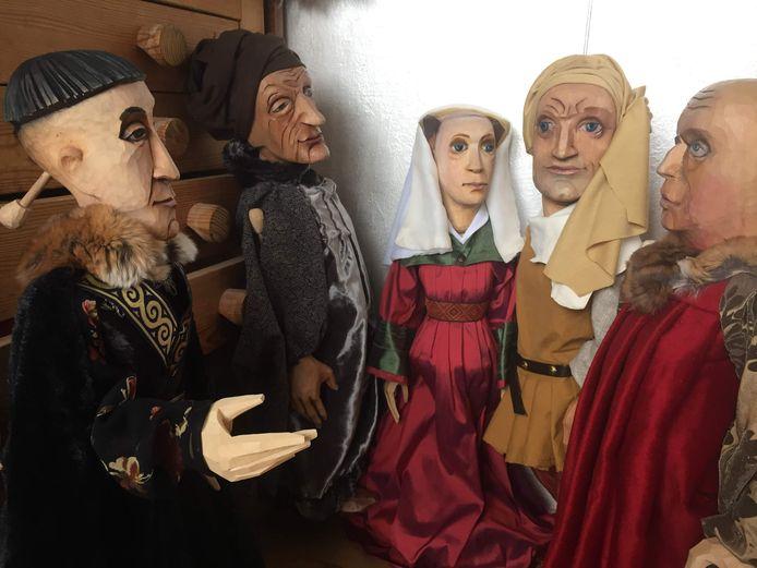 De Van Eyck-poppen van Luk De Bruyker
