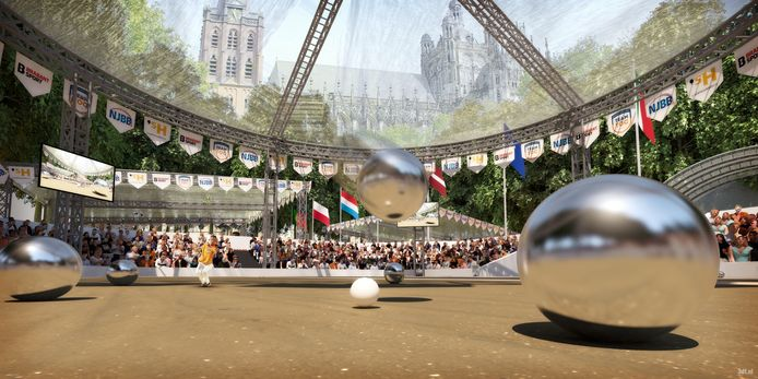 Het EK Petanque is in 2022 op de Parade in Den Bosch