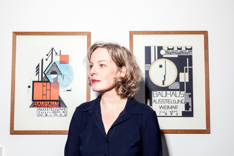 Beatrice de Graaf: 'Ik voerde lange gesprekken met mensen die weten dat ze daar nog jaren zullen zitten. Dat was soms erg deprimerend.' Beeld Hilde Harshagen