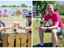 Oldenzaal is twee bijzondere zomerterrassen rijker: 'Bier drinken in een ongedwongen setting'