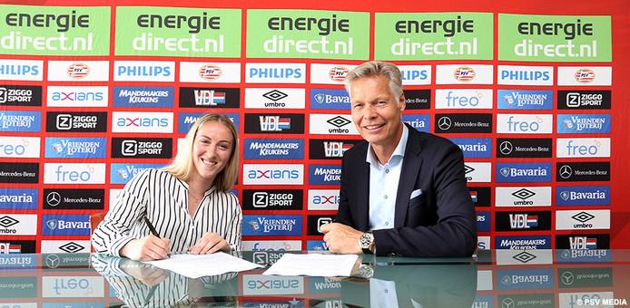 Rachel Cuschieri is de nieuwste aanwinst voor PSV Vrouwen