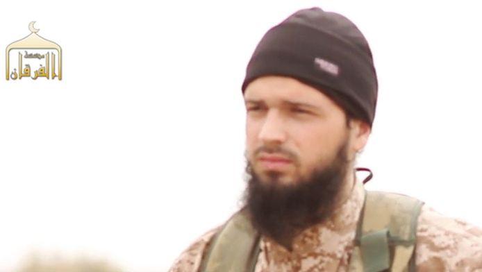 De geradicaliseerde Fransman Abu Abdallah al-Faransi trok vorig jaar naar Syrië.