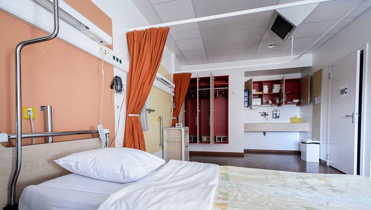 Een kamer in het VU Medisch Centrum. Beeld anp