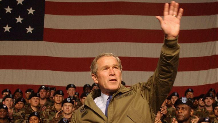 Voormalig president George W. Bush Beeld getty