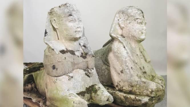 Des vieilles statues qui trainaient dans leur jardin vendues à un prix record