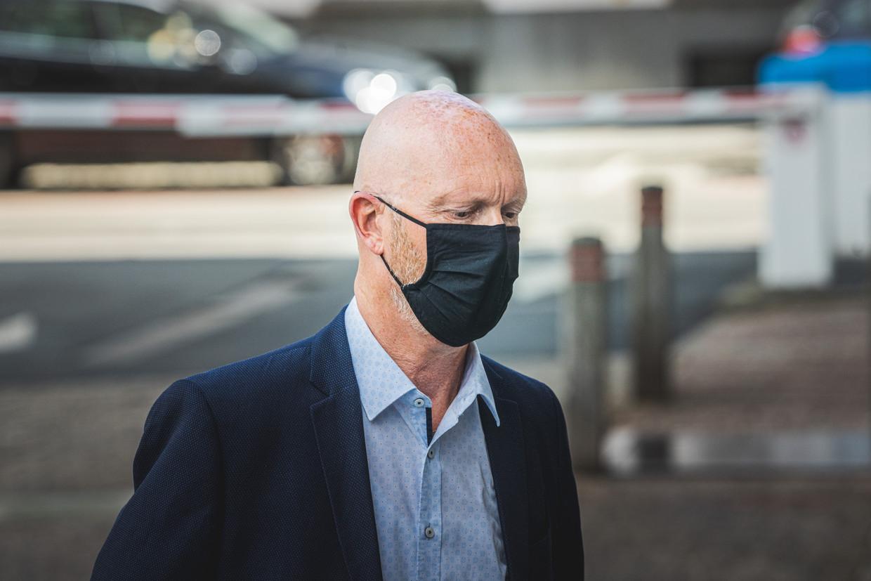 Johan Sabbe in het hof van beroep, Gent Beeld Wannes Nimmegeers