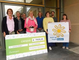 Zedelgem haalt 7.919,15 euro op voor Kom Op Tegen Kanker