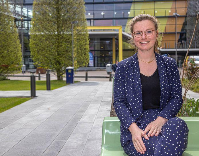 Lisa Wilderink doet onderzoek naar Zwolle Gezonde Stad.