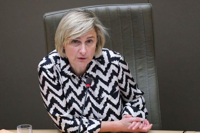 Vlaams minister van Werk Hilde Crevits