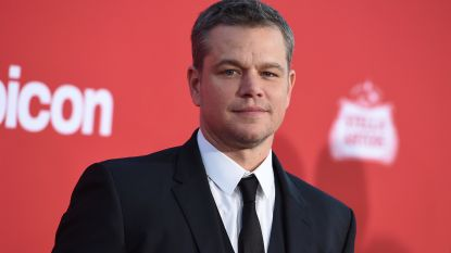 """Matt Damon: """"Als Weinstein dit in mijn buurt deed, dan spijt het me"""""""