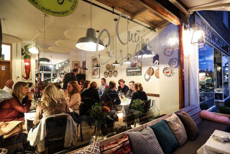 Cucina Casalinga on Stadionweg  Beeld Eva Plevier