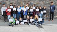 Leerlingen De Knipoog ontvangen fietsdiploma