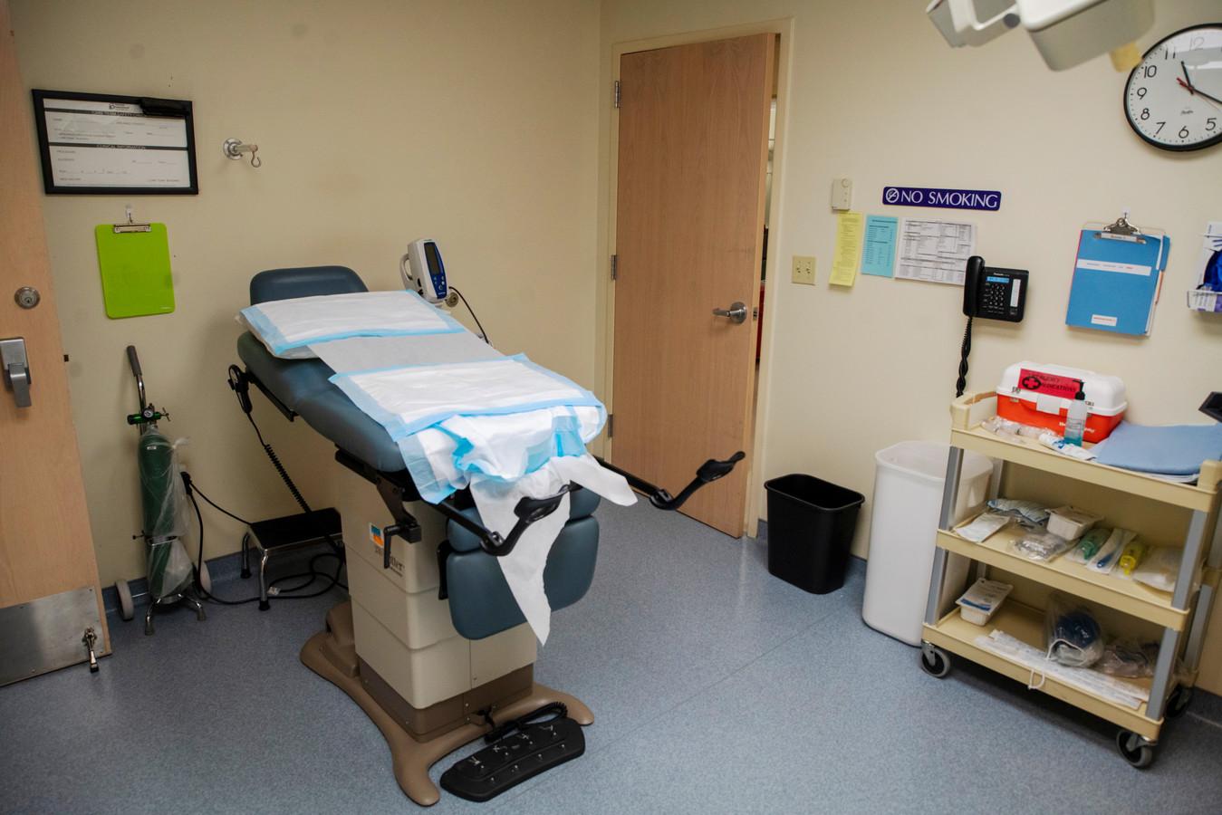 Een abortuspraktijk in de Amerikaanse stad St. Louis.