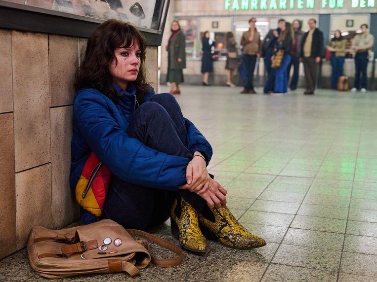 Jana McKinnon in 'Wir Kinder vom Bahnhof Zoo'.  Beeld Amazon