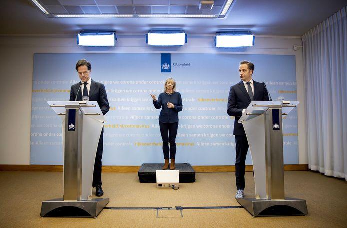 Demissionair premier Mark Rutte en demissionair minister Hugo de Jonge (Volksgezondheid, Welzijn en Sport) hebben niet zo veel op met de buitensporter.