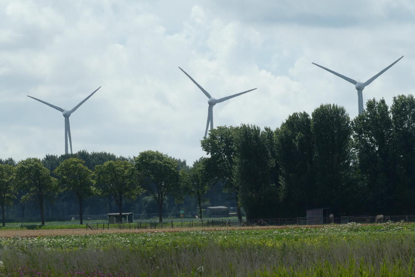 Sint-Michielsgestel stelt bouw windturbines uit.