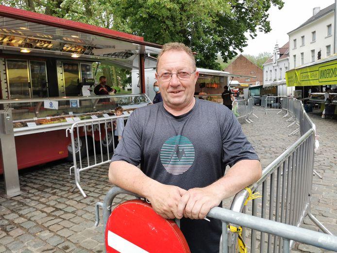 Bruno Crokaert nam vrijdag afscheid van 'zijn' markten in Sint-Pieters-Leeuw.