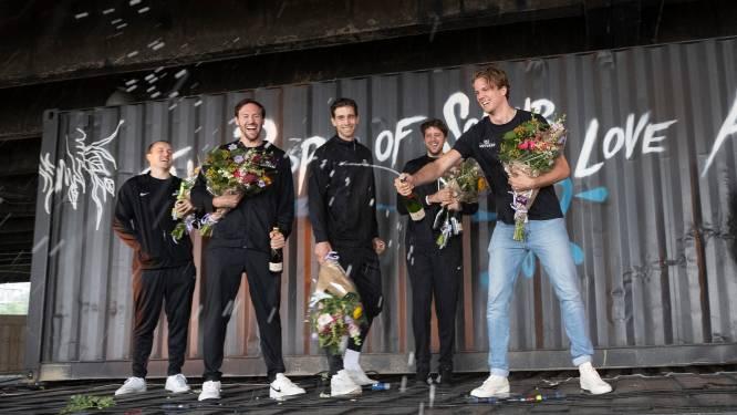 """Belgian Lions als helden onthaald in Antwerpen: """"Zelfs de basketballers van de oude garde zijn trots op ons"""""""