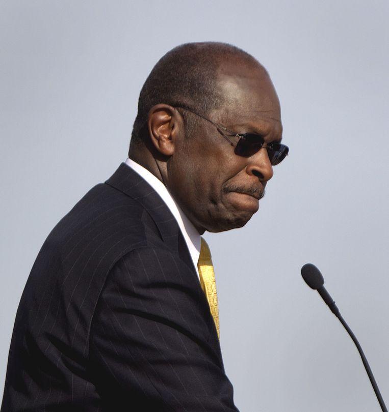 Herman Cain. Beeld AP
