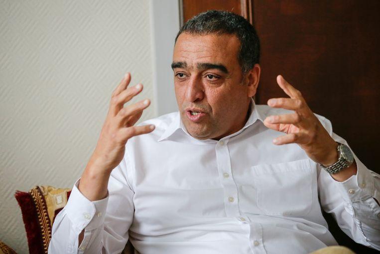 Mohamed Achaibi, ondervoorzitter van de Moslimexecutieve, kan zich niet vinden in het advies van het Raadgevend Comité voor Bio-Ethiek. Beeld Photonews