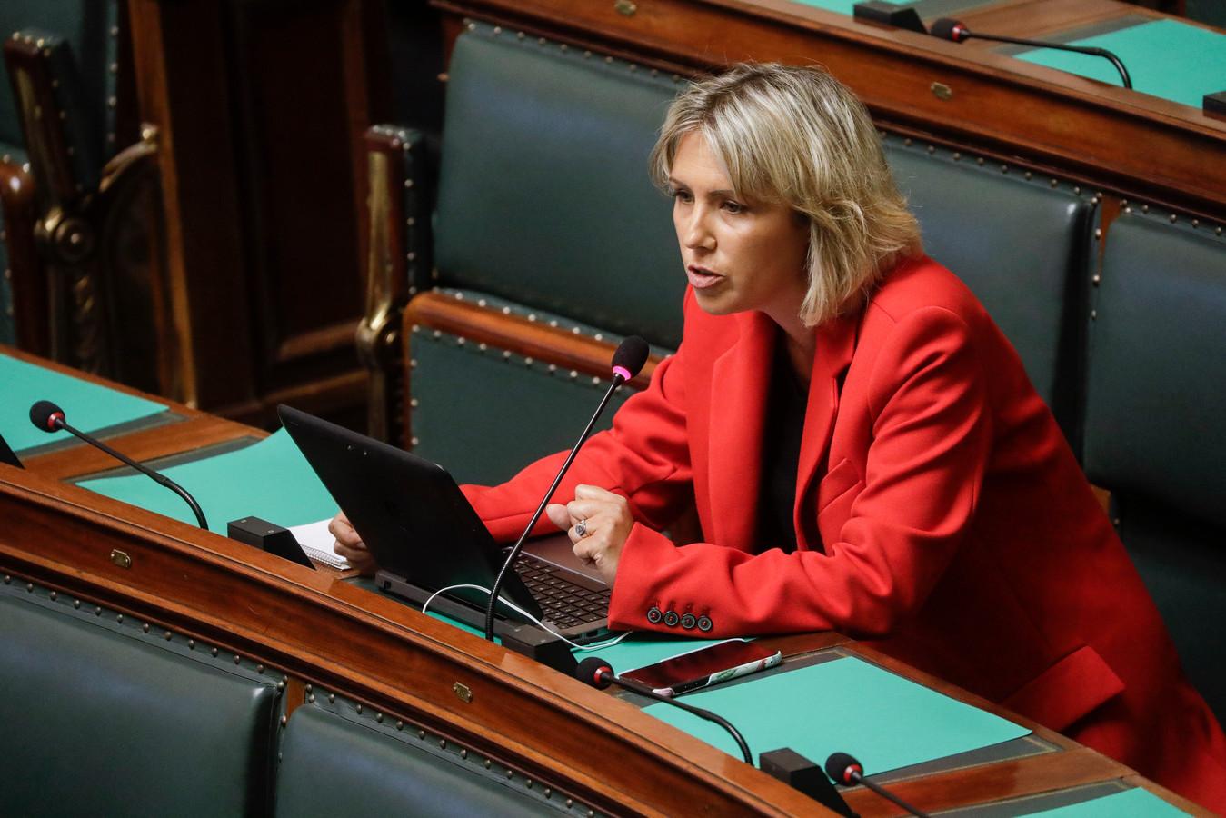 La députée PS Ludivine Dedonder.