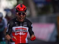 Ewan vainqueur, Landa à terre dans la 5e étape du Giro
