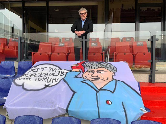 Ook Feyenoord-icoon Gerard Meijer steunt de spandoeken actie.