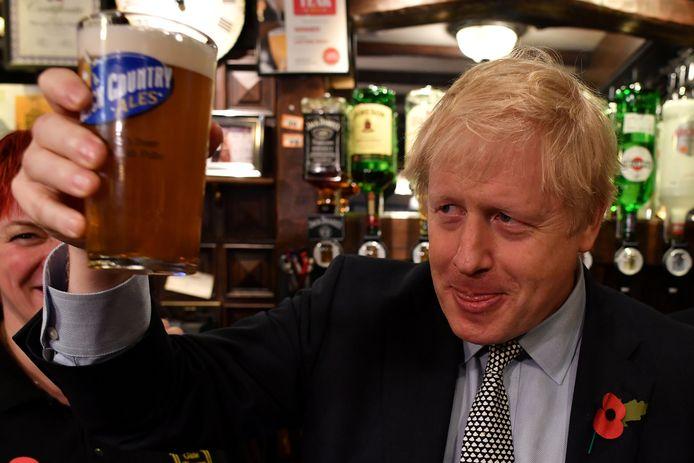 O primeiro-ministro britânico Boris Johnson.