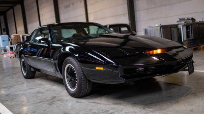 Altijd al eens ritje willen maken met legendarische wagen uit 'Knight Rider'? Veilinghuis biedt nu replica  te koop aan