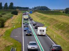 N50 tussen Emmeloord en Kampen dit weekend afgesloten, deze keer vanwege werkzaamheden