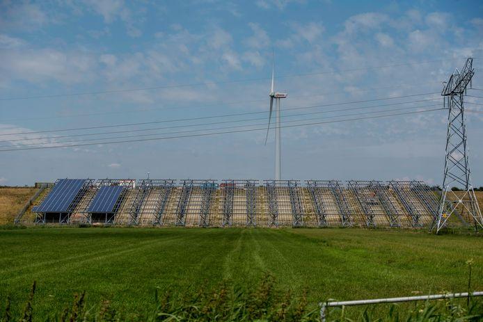 Het Ecopark krijgt nieuwe zonnepanelen.
