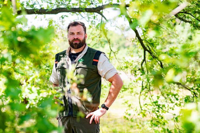 Boswachter Tim Hogenbosch