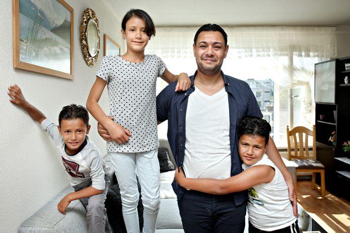 De familie Mahmoud was drie jaar geleden het tweehonderste gezin uit Syrië dat door liefdadigheidsstichting De Verre Bergen werd opgevangen in Rotterdam.