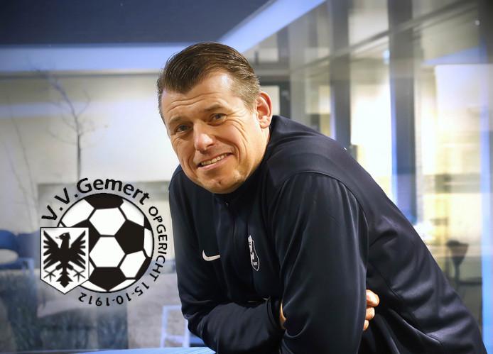 Reinald Boeren, trainer van Gemert.