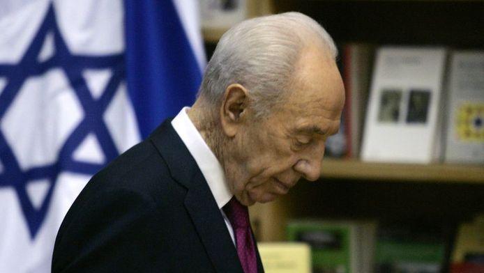 Le président israélien Shimon Peres.