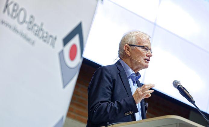 Leo Bisschops, voorzitter van de KBO-Brabant.