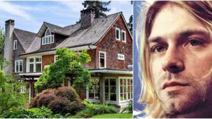 BINNENKIJKEN. Het huis waar Kurt Cobain stierf staat te koop