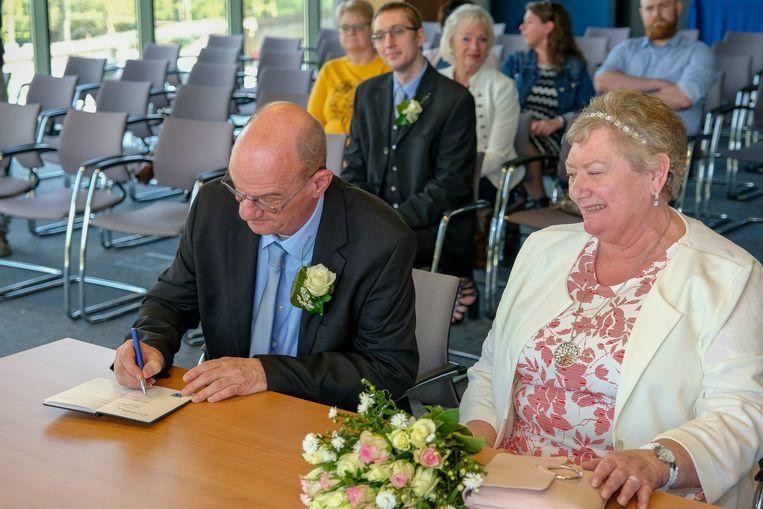 Een handtekening in het trouwboekje heeft enkel nog ceremoniële betekenis.