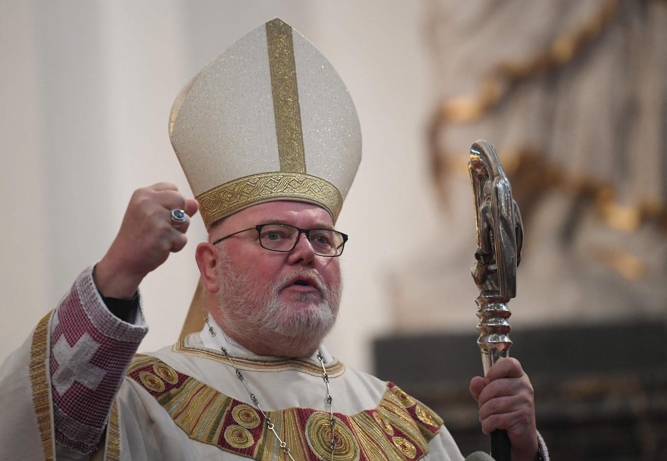 Kardinaal Reinhard Marx, aartsbisschop van München en Freising.