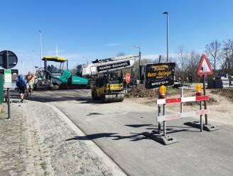Werf voor fietssnelweg F20 langs kanaal schuift op richting Ruisbroek