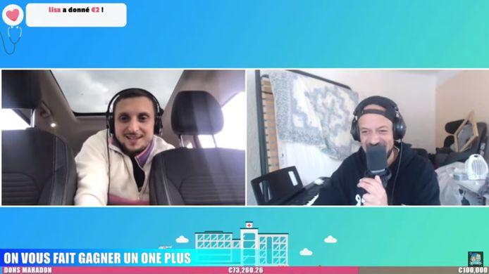 """McFly & Carlito ont organisé une journée """"Maradon"""" pour récolter de l'argent pour le personnel soignant en France."""