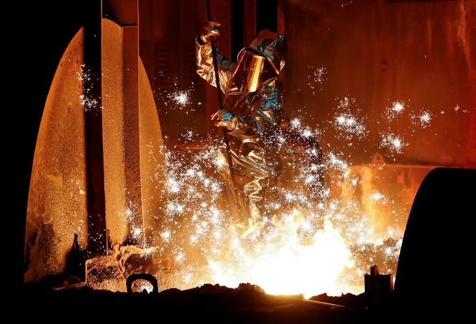 ThyssenKrupp heeft een fusie met Tata Steel afgeblazen.