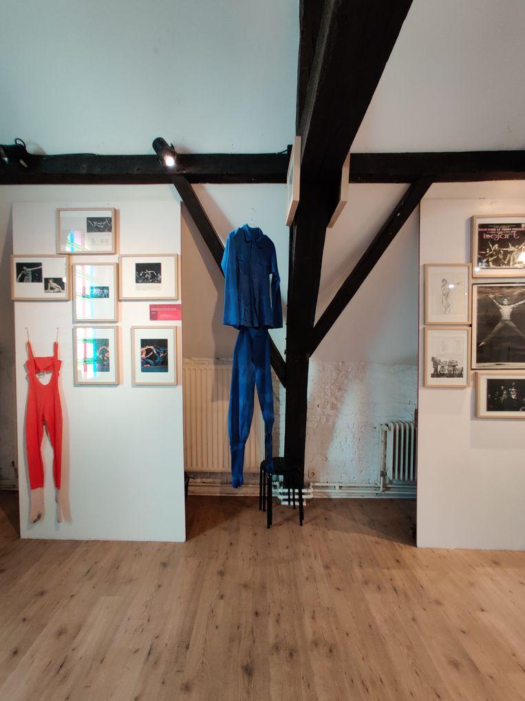 Na zijn dood werd Béjarts loft een museum met archieffoto's van zijn balletproducties, originele brieven en danskostuums. Beeld Rv