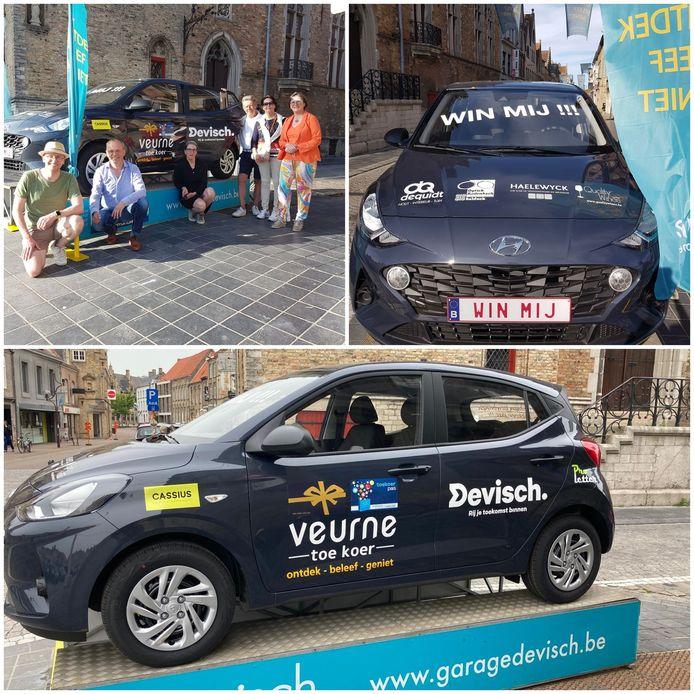 Je maakt kans om deze auto te winnen als je in Veurne shopt bij één van de Toe Koer-handelaars.