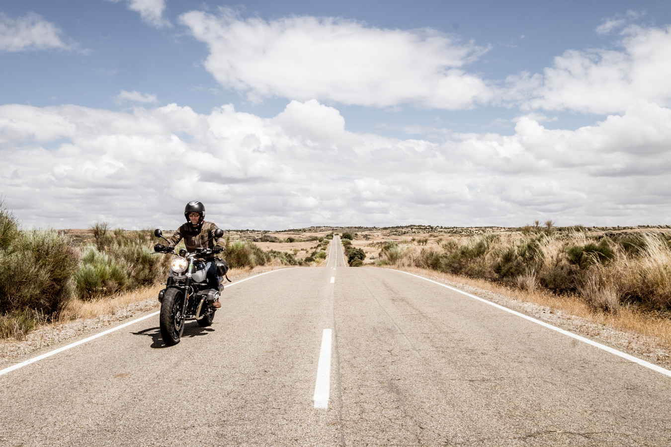Avontuur op pad met de motor in Extremadura.