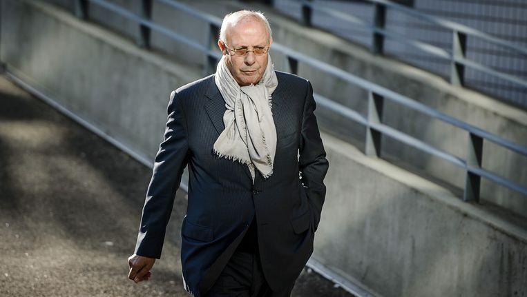 Voormalig topman van Rochdale Hubert Möllenkamp bij de rechtbank in Amsterdam. Beeld anp