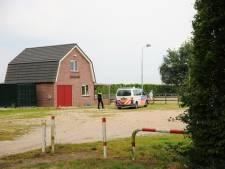 Zwaargewonde bij ongeluk met paard in Ommeren, slachtoffer onder politiebegeleiding naar het ziekenhuis gebracht