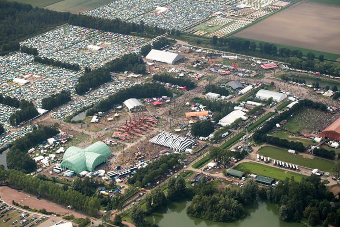 De 27ste editie van Lowlands op het evenemententerrein naast Walibi Holland in Biddinghuizen.